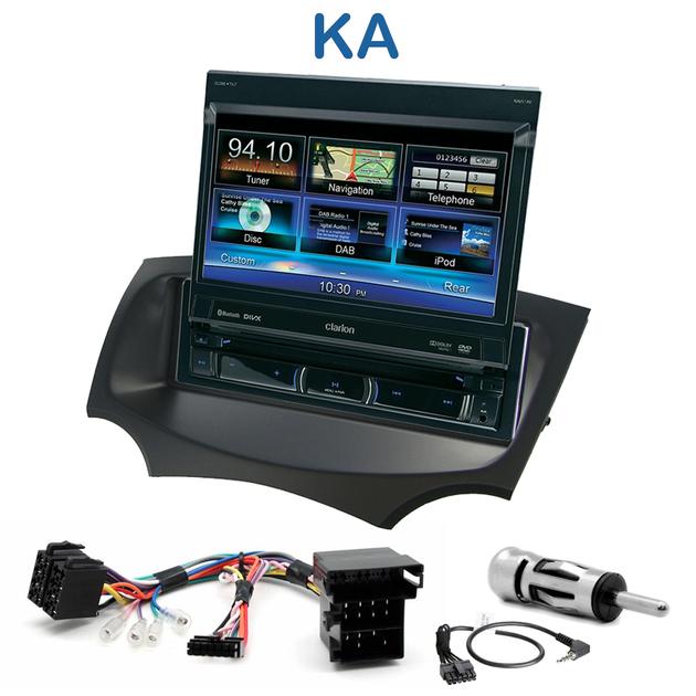 Autoradio 1 din gps cran motoris ford ka depuis 2009 for Auto choix