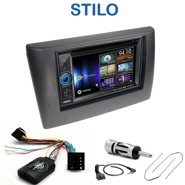 autoradio gps fiat stilo nx706e nx404e ou nx505e tactile 6 2 autoradios. Black Bedroom Furniture Sets. Home Design Ideas