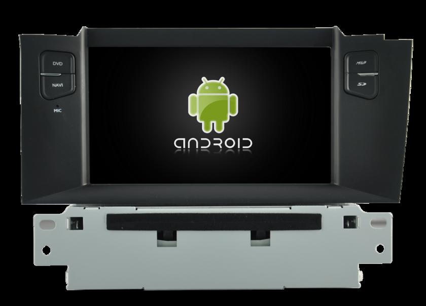 poste gps citroen c4 ds4 autoradio android citroen mains libres usb dvd autoradios. Black Bedroom Furniture Sets. Home Design Ideas