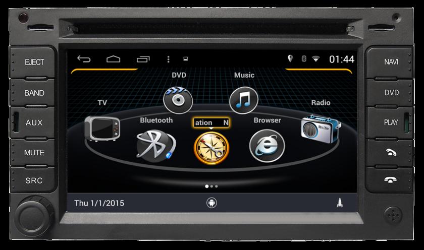 poste gps volkswagen autoradio android mains libres usb dvd autoradios. Black Bedroom Furniture Sets. Home Design Ideas