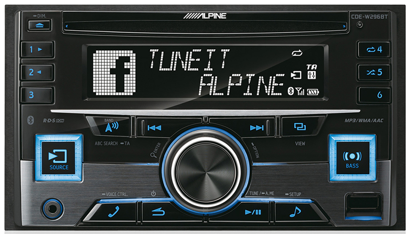 autoradio 2 din alpine cd usb bluetooth bmw s rie 1 autoradios. Black Bedroom Furniture Sets. Home Design Ideas