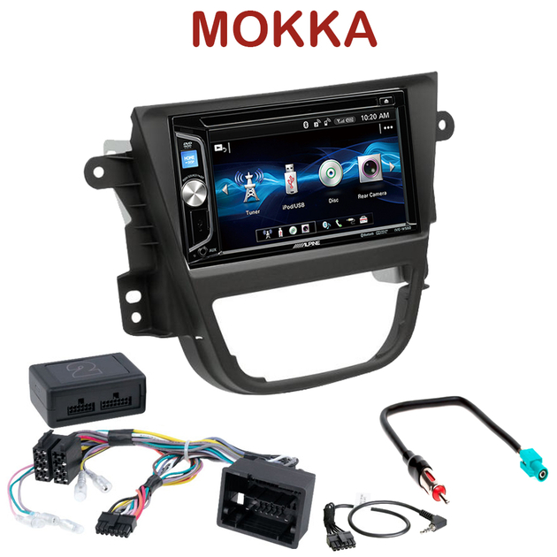 autoradio 2 din opel mokka poste alpine cd usb bluetooth mp3 autoradios. Black Bedroom Furniture Sets. Home Design Ideas