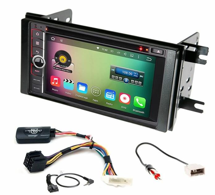 écran tactile Android Wifi Waze GPS Subaru Impreza depuis 2012