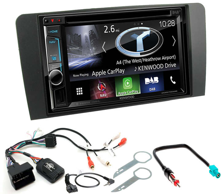 autoradio gps audi a3 achetez votre kenwood navigation carplay autoradios. Black Bedroom Furniture Sets. Home Design Ideas