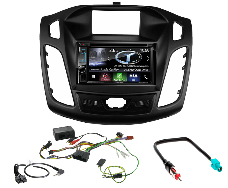 autoradio navigation carplay et android auto ford focus autoradios. Black Bedroom Furniture Sets. Home Design Ideas