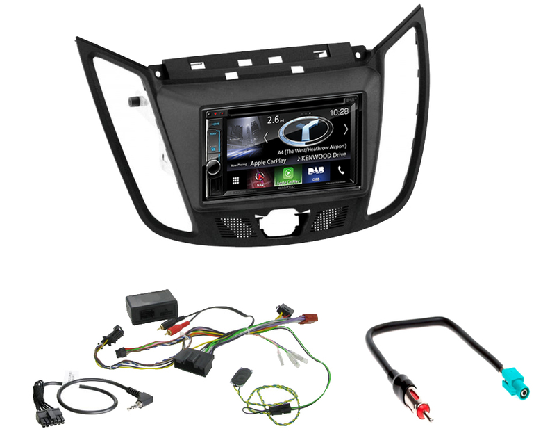 commandez votre autoradio gps carplay kenwood ford c max kuga. Black Bedroom Furniture Sets. Home Design Ideas