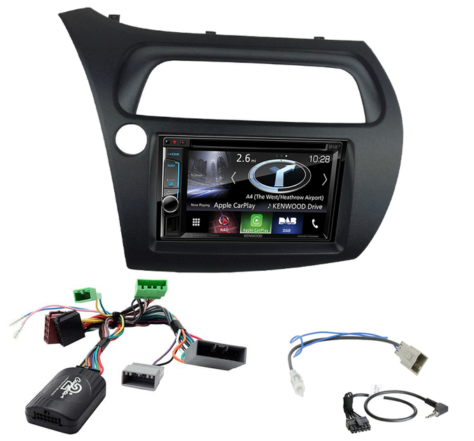 autoradio honda civic navigation carplay android auto dnx5170bts autoradios. Black Bedroom Furniture Sets. Home Design Ideas