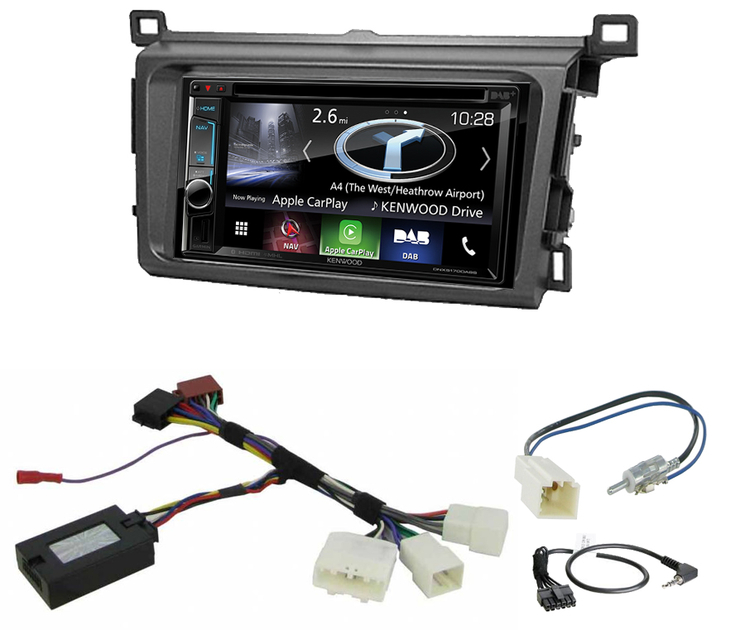 achetez votre autoradio gps carplay kenwood pour toyota rav4 depuis 2013. Black Bedroom Furniture Sets. Home Design Ideas