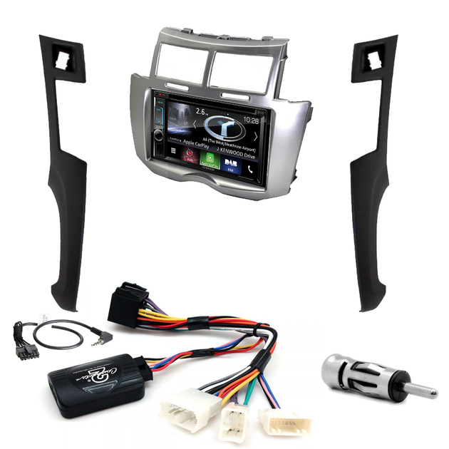 autoradio gps toyota yaris 2007 2011 poste tactile dvd autoradios. Black Bedroom Furniture Sets. Home Design Ideas