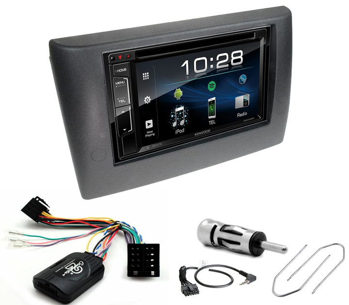 votre poste fiat stilo double din jvc et kenwood usb bluetooth commander. Black Bedroom Furniture Sets. Home Design Ideas