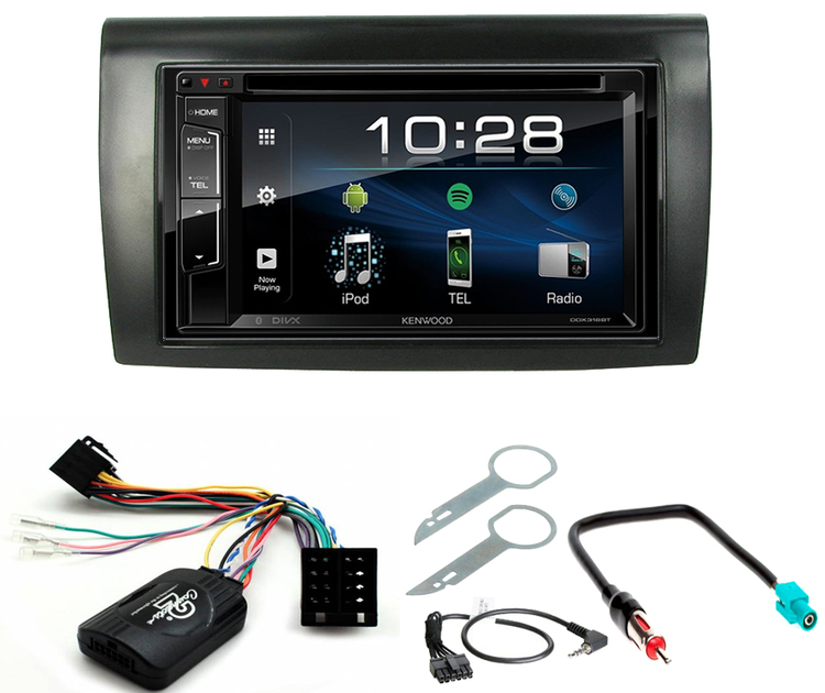 autoradio multim dia cd usb bluetooth jvc et kenwood fiat bravo sur autoradios. Black Bedroom Furniture Sets. Home Design Ideas