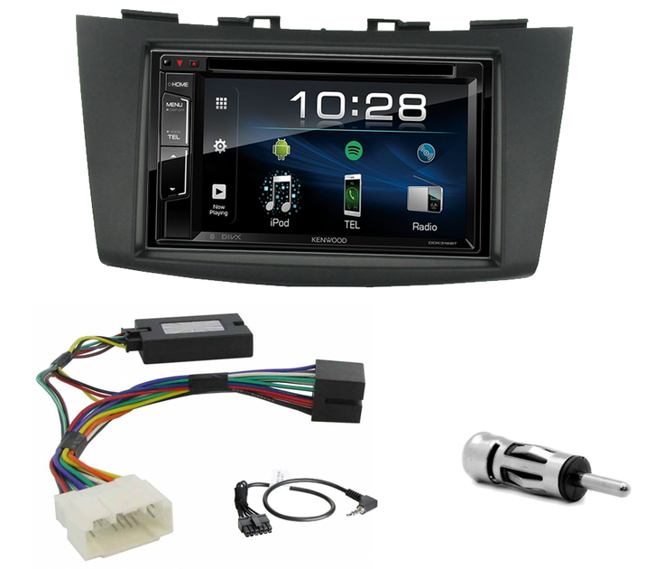 autoradio 2 din cd usb mp3 wma suzuki swift sur autoradios. Black Bedroom Furniture Sets. Home Design Ideas
