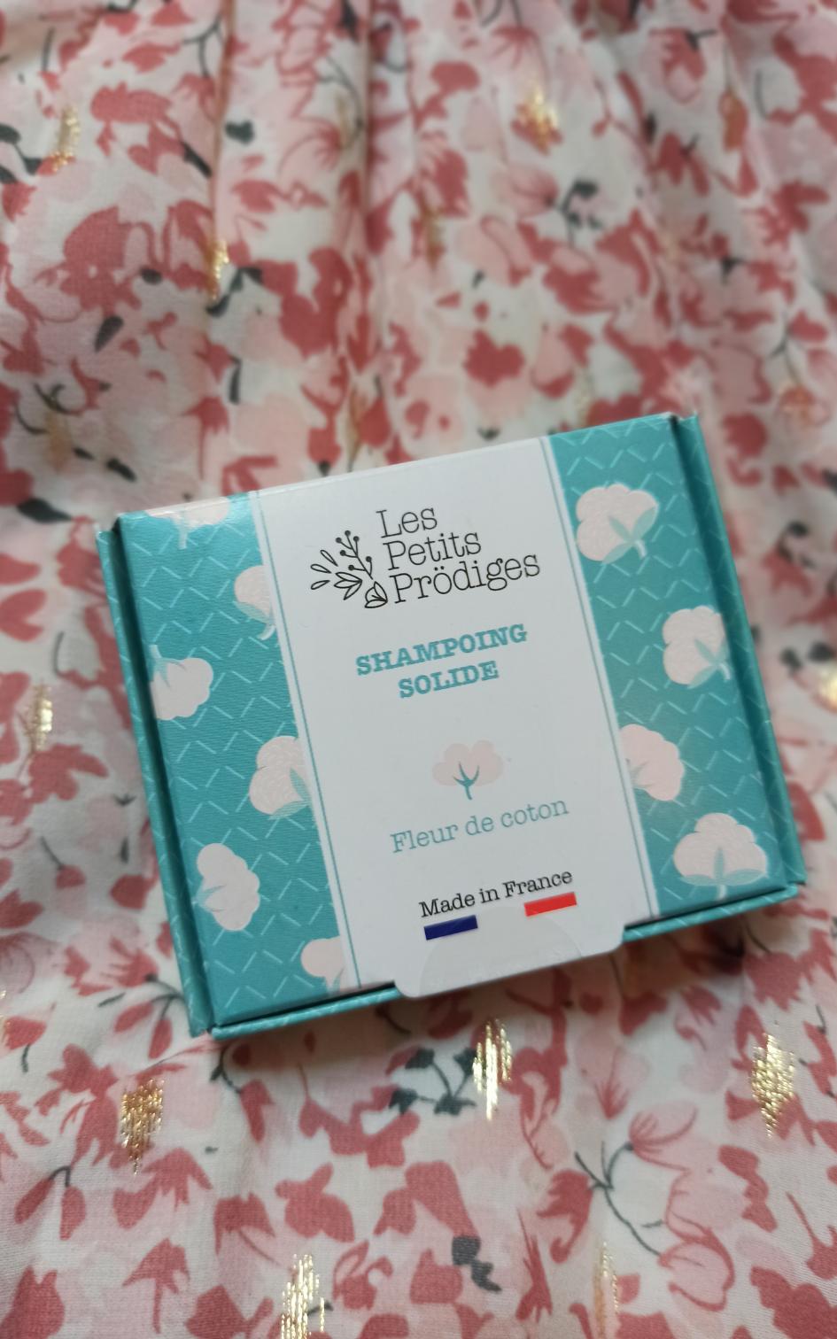Shampoing solide Fleur de coton Les Petits Prödiges