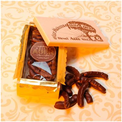Caisson Orangettes Chocolat