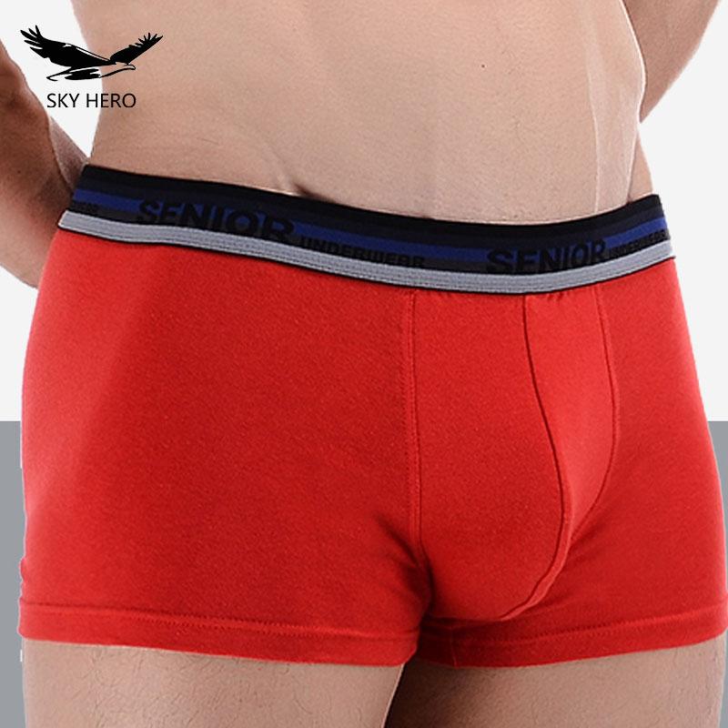 4-pcs-lot-Nouveau-Mod-le-Classique-Hommes-Boxeur-de-Sous-V-tements-Shorts-Coton-Boxeurs