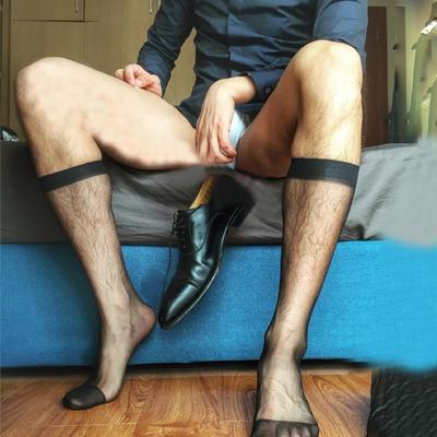 Chaussettes-Harajuku-gay-chaussettes-transparent-gentleman-chaussettes-m-le-bas-soyeux-transparent-chaussettes-hommes-d-affaires