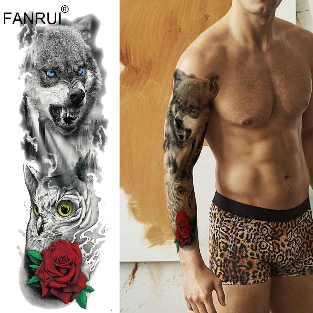 Tatouage Bras Pour Homme Grand Modele Import Maxim Hom