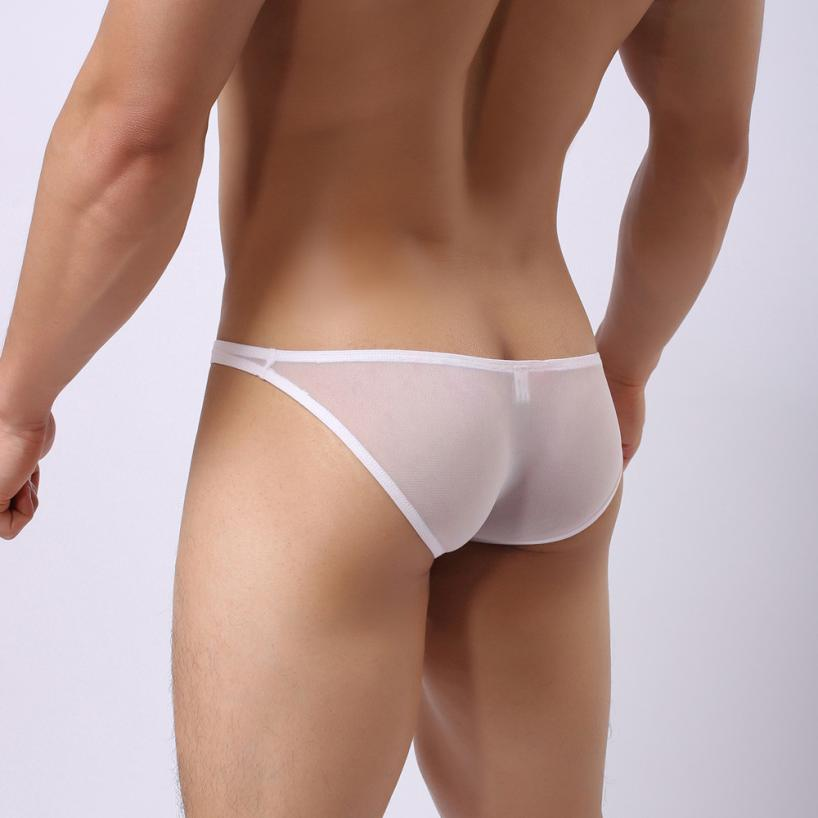 Hot-hommes-Sexy-sous-v-tements-Shorts-sous-v-tements-Perspective-poche-doux-slips-culottes-haute