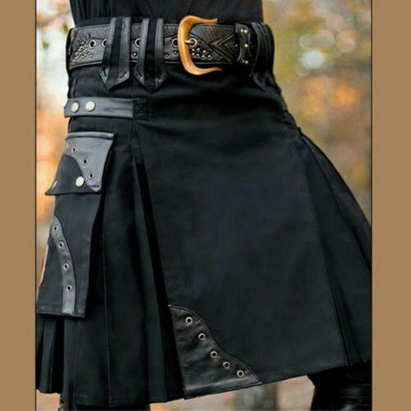 SHUJIN-2019-nouveau-cossais-hommes-Kilt-traditionnel-jupe-en-m-tal-classique-r-tro-traditionnel-personnalit