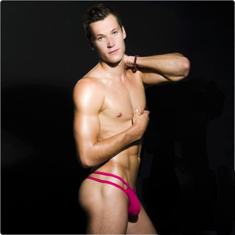 Taille-basse-Sexy-hommes-sous-v-tements-Gay-p-nis-poche-hommes-sous-v-tements-v