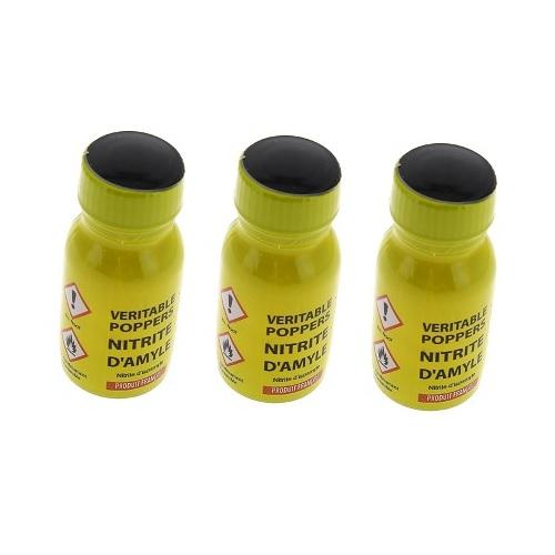 4300160000000 Poppers véritable au nitrite d'amyle - 13 ml Lot de 3