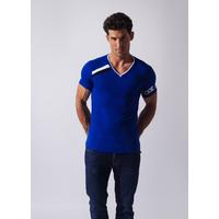 Tee-Shirt Asymmetric Sport bleu CODE 22
