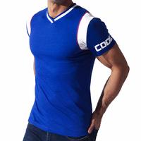 Tee-Shirt Contrast Sport bleu CODE 22