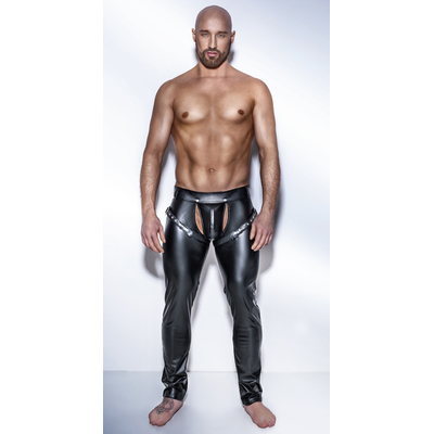 Chaps Noir Powerwetlook H042
