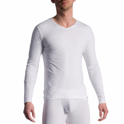 T-Shirt manches longues RED1601 blanc Olaf Benz