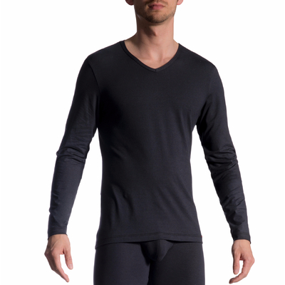 T-Shirt manches longues RED1601 noir Olaf Benz
