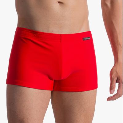 Boxer de bain BLU1753 rouge Olaf Benz