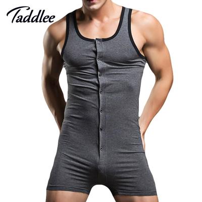 Body-short en coton pour homme