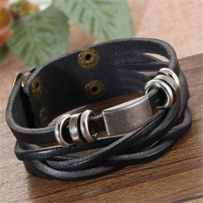 Bracelets homme tressés