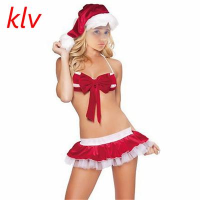 Bikini de Noël sexy pour femme