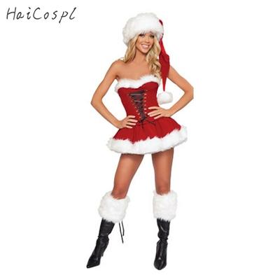 Robe corset de Noël pour femme