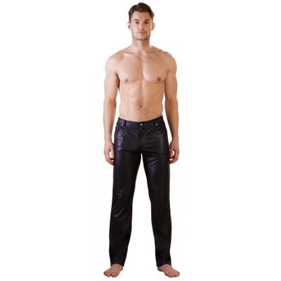 Pantalon Noir Mat Coupe Jean