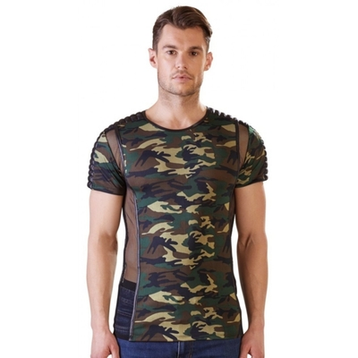 Tee Shirt Camouflage et Tulle