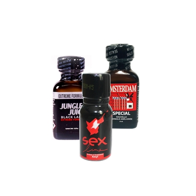 Pack Amateur 3 poppers