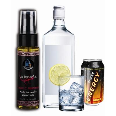 Huile de la Tentation Vodka Energy Drink - 35 ml
