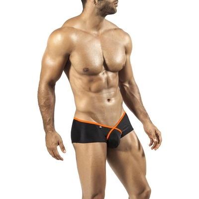 Cheek Boxer Pride Frame Neon noir et orange