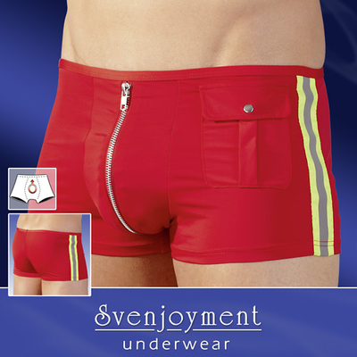 Shorty Zip Fireman rouge