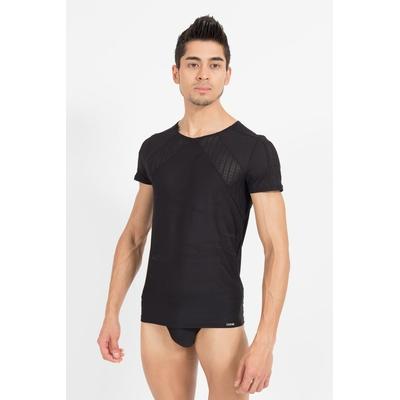 T-Shirt Trouble noir Lookme