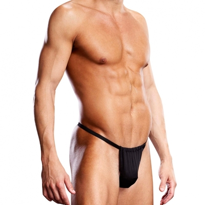 V-String Performance Microfiber noir