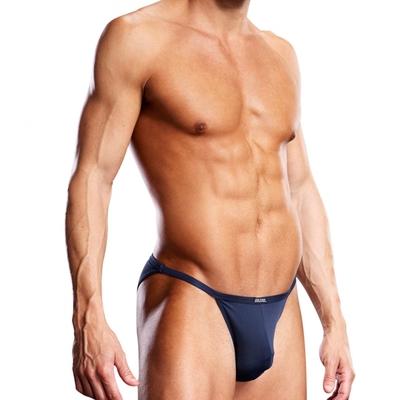 Slip bikini Performance Microfiber bleu marine