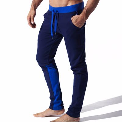 Jogging slim fit Sport bleu CODE 22