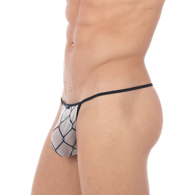 String Ficelle Wired blanc Gregg Homme