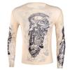 IEFiEL-Chaude-Automne-Hommes-Tops-Faux-Tatouage-Conception-lastique-Voir-Travers-Plein-Manches-Longues-T-Shirt