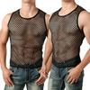 Hirigin-maillot-de-corps-Transparent-sans-manches-chemise-en-maille-respirante-gilet-de-Fitness-Sexy-pour