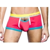9561_0104 Boxer Color Vibe Sports Corail Andrew Christian zoom