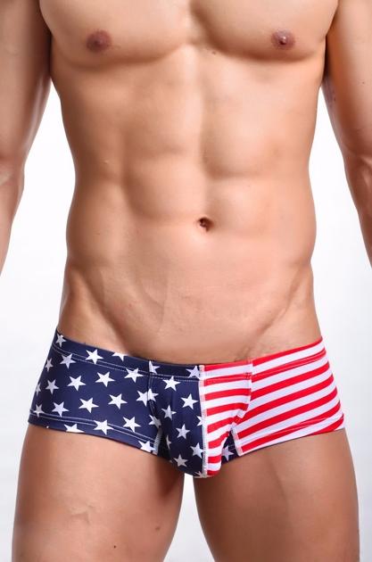 Nouvelle-Hommes-Sexy-Sous-V-tements-Boxer-Troncs-Nouvelle-Taille-Basse-con-u-Hommes-Boxers-Coton